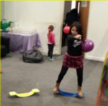 Image of children participating in sensory experience 3